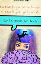 Los Pensamientos De cKu. by conK319