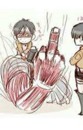 I can't believe I fell for him - Eren x Levi. by notemojustgoth