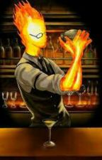 A Warm Glow (Grillby X Reader) by s1mplyp0tat0