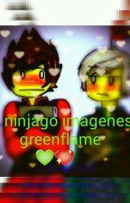 ninjago greenflame imagenes by Ninjago35