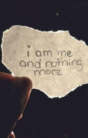 I Am Me by percyjacksonbooksfan
