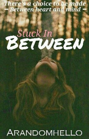 Stuck in between ×ON HOLD× by arandomhello