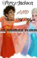 Percy Moments And Other Things From Heroes Of Olympus  by _Maddeningly_