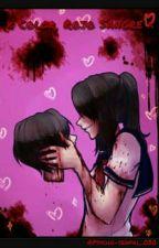 × Color, Rojo sangre × [Yandere-chan x Reader] | CANCELADA by XxFriendInfinitexX