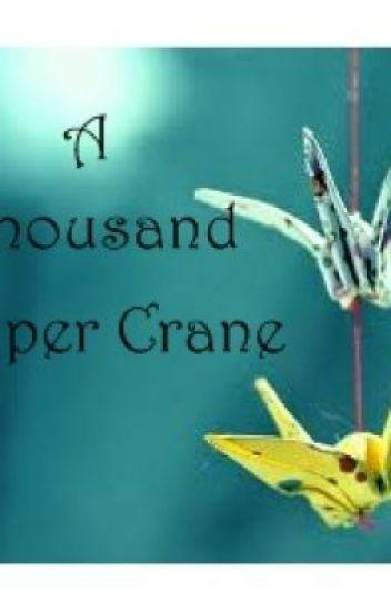 A thousand Paper crane