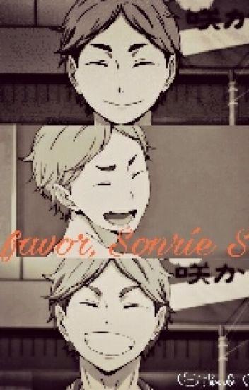 Por favor, sonríe Suga.