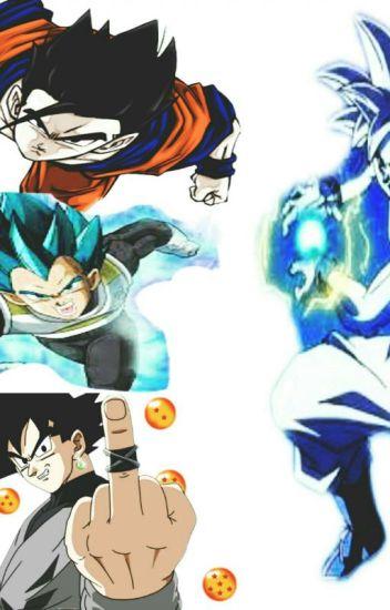 Goku vs blak la berdadera batalla