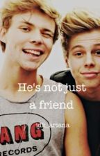 he's not just a friend (lashton fanfic au) by exileclifford