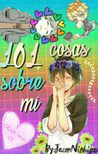 101 Cosas Sobre Mí by Gus_gus16