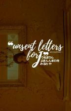 Unsent letters for J by aecoustaec-