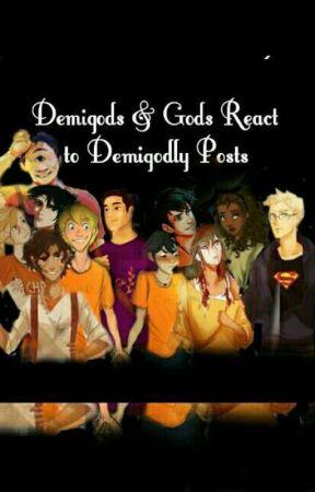 Demigods & Gods React to Demigodly Posts - 2 Nico's Gayness