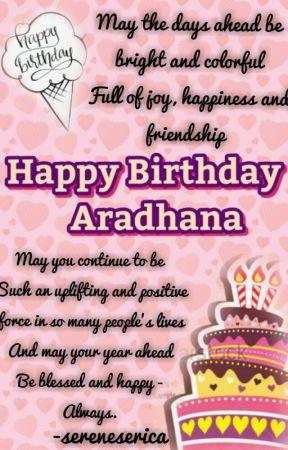 Birthday Wishes by sereneserica