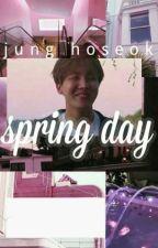 spring day ; jung hoseok by sxxtxngrl
