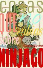 Cosas que no sabias sobre Ninjago by sandiieman
