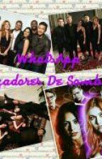 WhatsApp Cazadores De Sombras by cinthialynch