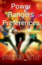 Power Ranger Preferences by 1Nightwings_babysis1