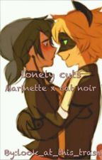 lonely cuts (cat noir x Marinette ) by look_at_this_trash