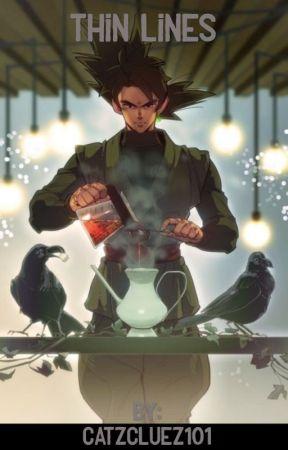 Thin Lines (Goku Black x Reader) by DredgenUmbra