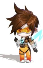 Tracer X Reader (High School) by AWildHuman