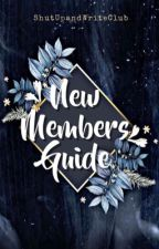 New Members Book (a club guide) by ShutUpAndWriteClub