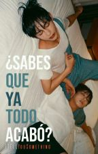 ¿Sabes que ya todo acabó? [Vkook] by ITellYouSomething