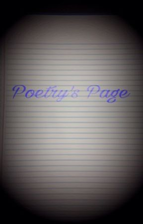 Poetry's Page by whisperer101