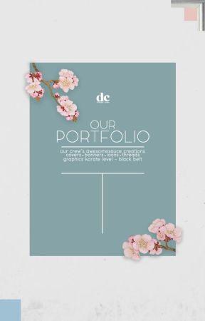 our portfolio | graphics request by DesignerCorner