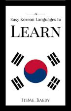 Easy Korean Languages To Learn by zadeux_