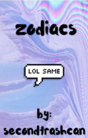 zodiacs by secondtrashcan