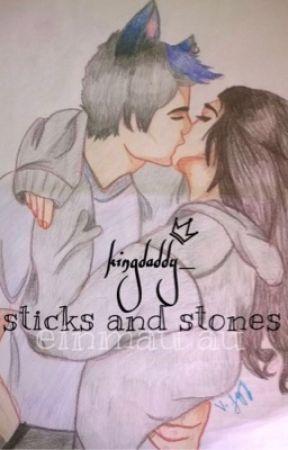 °Sticks And Stones ↭ Einmau AU° by kingdaddy_
