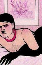Hitler x Reader by ParsleyBasil