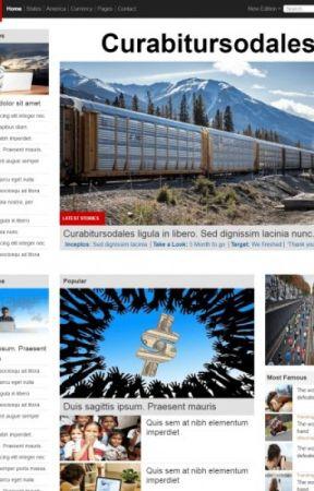 World News Responsive Template by templateonweb