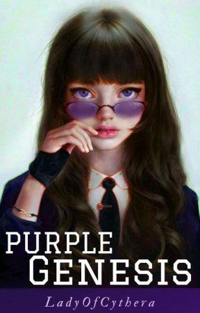 Purple Genesis by LadyOfCythera