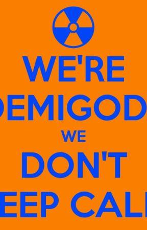 A Demigods Nightmare by Bookgirlbook117