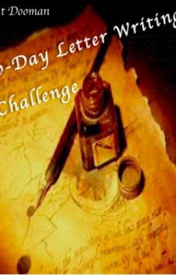 30-Day Letter Challenge
