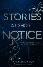 Stories At Short Notice by zuko_42