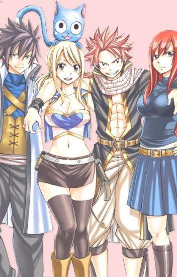 [ Fairy Tail fanfic ] Lạc đến tương lai