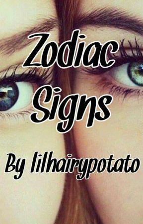 Zodiac Signs by lilhairypotato