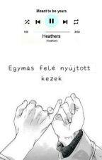 Egymás felé nyújtott kezek - Ereri by damienyukii