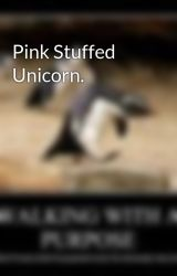 Pink Stuffed Unicorn. by EverdeensFire