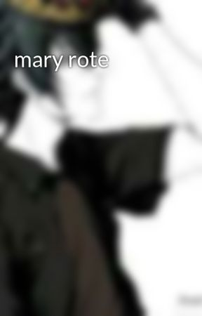 mary rote by Sexy-Bastard