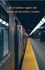 En el último vagón del metro de las siete y cuarto. by SkinnySukki