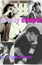 I'm only sleeping  by angel-lennon