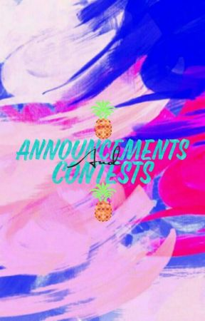 Announcements and Contests by ProjectCreativity