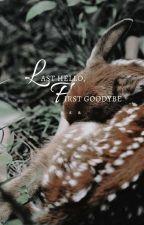 last hello, first goodbye; lily evans & marlene mckinnon by somniatis_