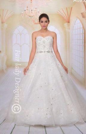 Best Trumpet Wedding Dress for Brides by fairladydesigner