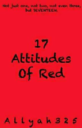 17 Attitudes Of Red by Allyah325