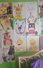 My fnaf drawings  by SFM-FuntimeFox