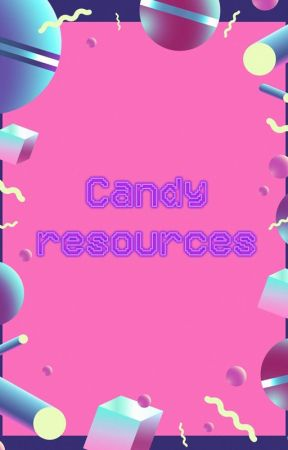 candy resources - blackpink png pack