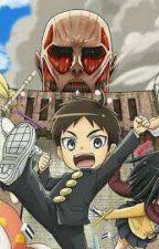 Shingeki no Kyojin . Attack On Titan Group Chat by Larryiscutee
